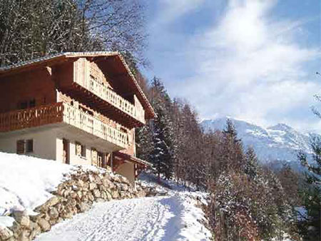Mont Blanc Italy, Chalet
