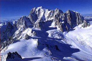Mt. Blanc, Courmayeur, Italy