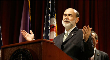 Ben Bernanke FOMC interest cut